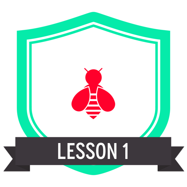 """Badge icon """"Bee (5673)"""" provided by Juan Sebastian Rickenmann, from The Noun Project under Creative Commons - Attribution (CC BY 3.0)"""